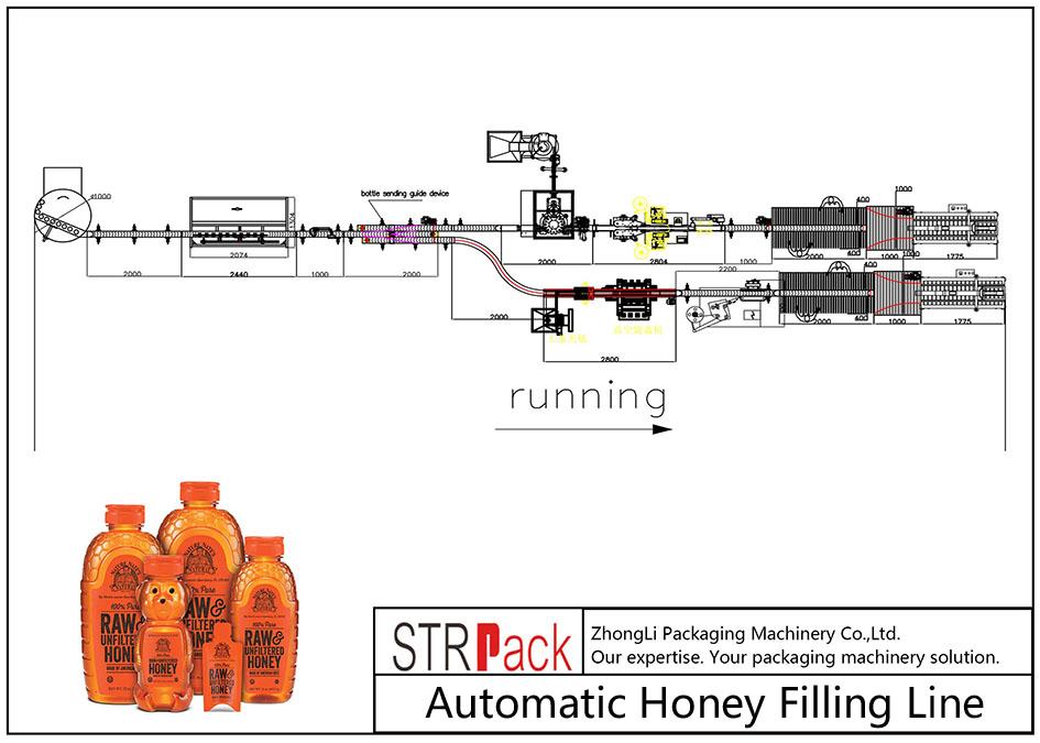 Մեղրի լրացման ավտոմատ գիծ